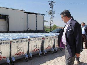 Cihanbeyli'ye 600 Yeni Çöp Konteyneri