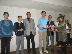 Fen Lisesi'nde Matematik Yarışması Ödül Töreni