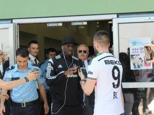 Beşiktaş'a İzmir'de Coşkulu Karşılaşama
