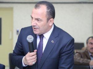 Başkan Sekmen, Öğrenci Ve Personel Taşımacılarıyla Toplantı Yaptı
