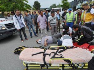 Bodrum'da Motosiklet Kazası: 1 Yaralı