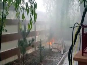 Kayısı Fabrikasında Yangın
