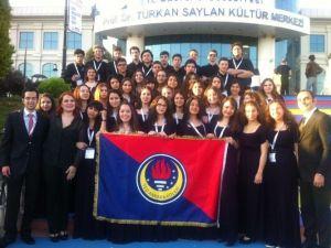TED Ankara Koleji Çok Sesli Korosu'na Ödül
