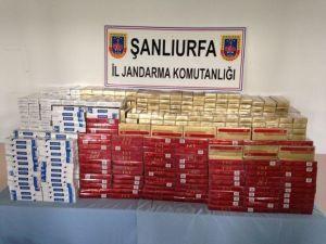 Şanlıurfa'da Çok Sayıda Kaçak Sigara Ele Geçirilirken, 4 Kişi Gözaltına Alındı