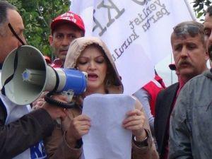 Giresun'da 'Soma' Yürüyüş Düzenlendi