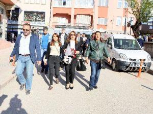 Kastamonu'da Ülkücülerden HDP'li Milletvekili Adayına Tepki