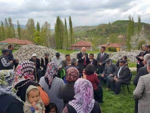 Karayel Seçim Çalışmalarını Akkışla'da Sürdürdü