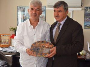 Malatyalılar Derneği Başkanı Ateş'den Başkan Ceylan'a Ziyaret