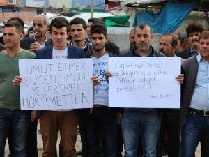 Ataması Yapılmayan Öğretmenlerden Protesto