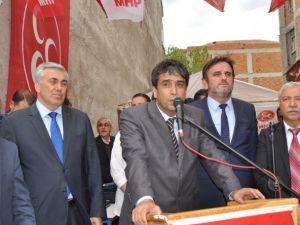MHP Korkuteli Seçim Bürosu, Dualarla Açıldı