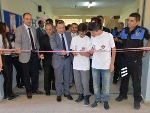Bilecik TOKİ İlk Ve Ortaokulu'nda Fuar Açılışı