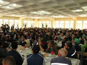 AK Parti Milletvekili Adayı Özhaseki, Şeker Fabrikası İşçilerine Seslendi: