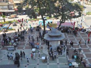 Nazilli'deki Osmanlı Çeşmesinden Şerbet Aktı