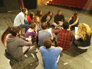 """Eskişehir Şehir Tiyatroları'nda """"İnsanlık S.o.s."""" Oyunu Provaları"""