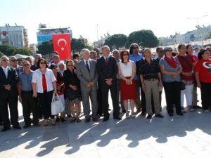 Didim'de CHP İlçe Yönetimi 19 Mayıs'ı Kutladı