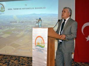Aydın'da İlk Toplulaştırma Paydaş Toplantısı Yapıldı