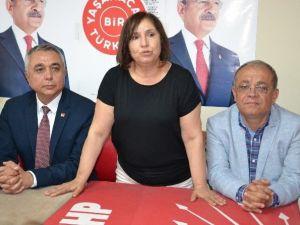 Selvi Kılıçdaroğlu, Nazilli'de CHP'lilerle Buluştu