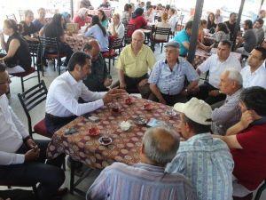 AK Parti Aydın Milletvekili Adayı Atay Çalışmalarını Kendi Köyünde Tamamladı