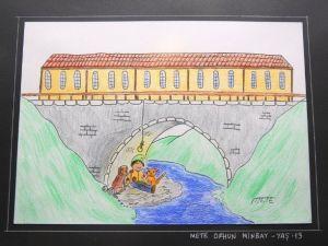 Minik Karikatüristler Hünerlerini Sergiledi