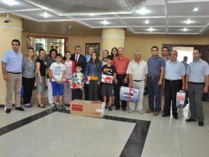 Nazilli'de En Çok Atık Pil Toplayan Okullar Ödüllendirildi