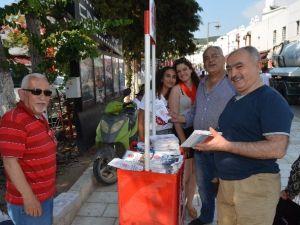 CHP'li Gençler Stant Açtı