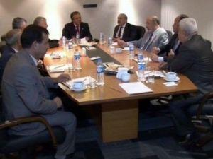 Azizoğlu, Arap Ve Kürt Üniversite Rektörleriyle Bir Araya Geldi