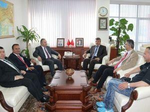 Kocaeli Cumhuriyet Başsavcısı Küçük, Vali Fidan'ı Ziyaret Etti