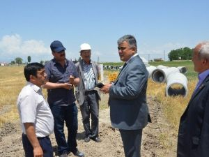 Ereğli're Kanalizasyon Çalışmaları