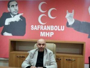 """MHP Safranbolu İlçe Başkanı Asker: """"Oylarımızı Arttırdığımız İçin Mutluyuz"""""""