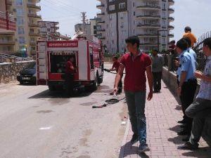 Adıyaman'da Öğrenci Evinde Çıkan Yangın Korkuttu