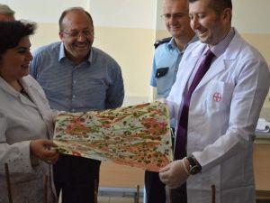 Mucur Anadolu Ve Şeyh Edebali Lisesi Resim Sergisi Açıldı