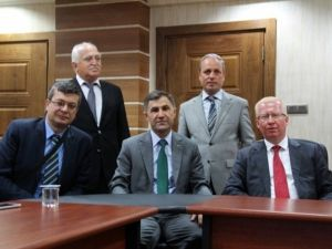 Daire Başkanlarından Çevre Ve Şehircilik Müdürlüğü'ne Ziyaret