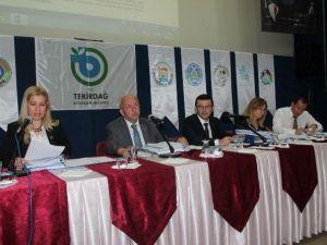Tekirdağ Büyükşehir Belediyesi Haziran Ayı Meclis Toplantısı Yapıldı