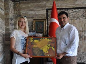 Ürgüplü Ressamlardan Kaymakam Balcı'ya Ziyaret