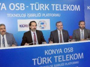 Konya OSB'den İletişim Atağı