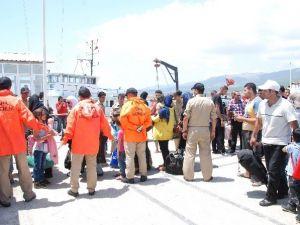 Silifke'de 150 Mülteci Yakalandı