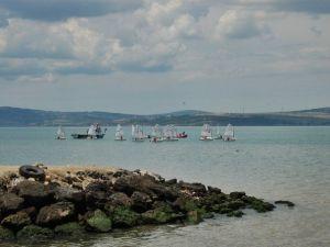 Lapseki Kiraz Festivali Yelken Yarışları Başladı