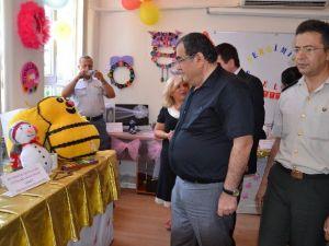"""Nazilli'de 'El Sanatları Karma Sergisi"""" Açıldı"""