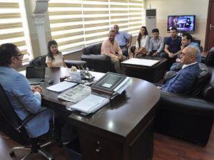 Silopi Fotoğraf Topluluğu'ndan Kaymakam Ali Arıkan'a Ziyaret