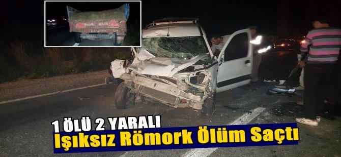 Bozdoğan'da Trafik Kazası