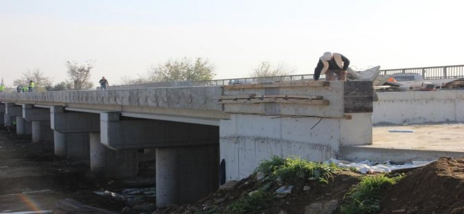 """Bitmeyen köprüde sona gelindi: """"Erken bile bitirdik"""""""