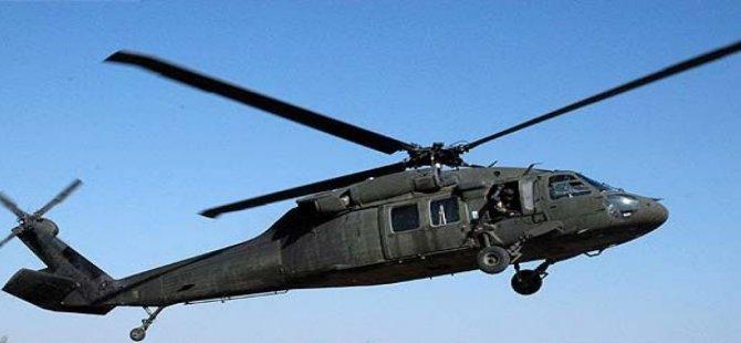 Askeri helikopter düştü, çok sayıda şehit var