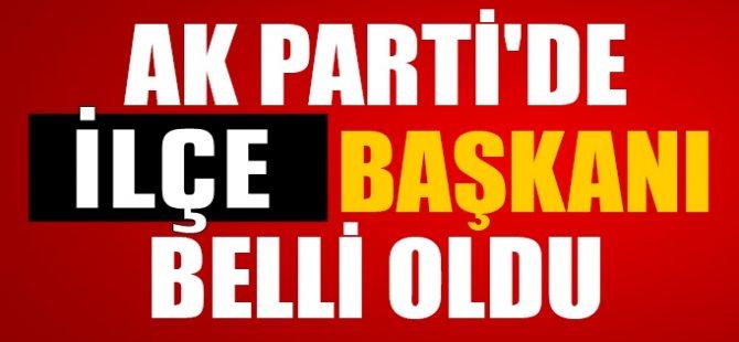 """AK Parti'nin Yeni Başkanı """"İsa Bedil"""""""