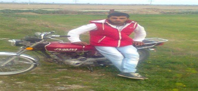 Motoru ikiye bölünen genç hayatını kaybetti
