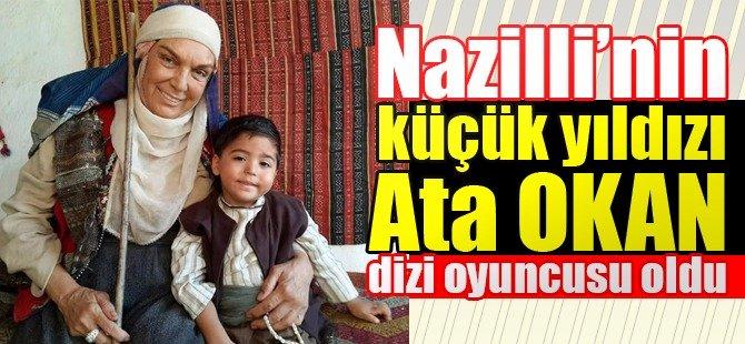 Nazilli'nin küçük yıldızı Ata dizi oyuncusu oldu