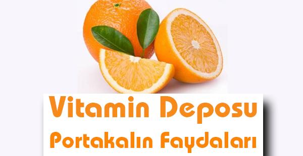 Vitamin Deposu Portakalın Faydaları