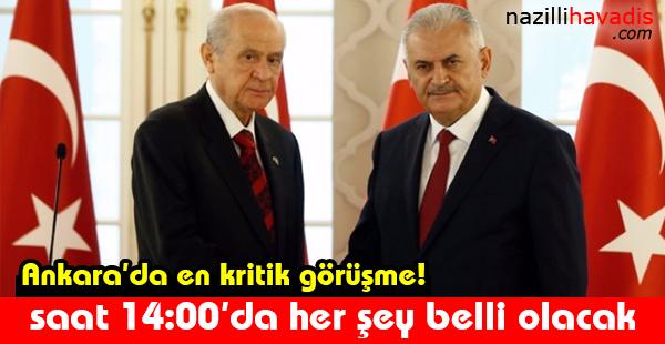 Ankara'da en kritik görüşme!