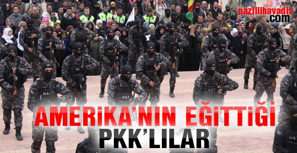 ABD'liler Afrin'deki PKK Kampında Terörist Eğitiyor