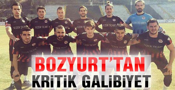 Bozyurtspor'dan kritik galibiyet !