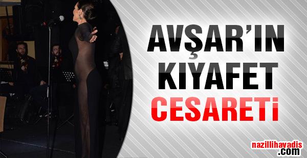 Hülya Avşar'ın transparan cesareti